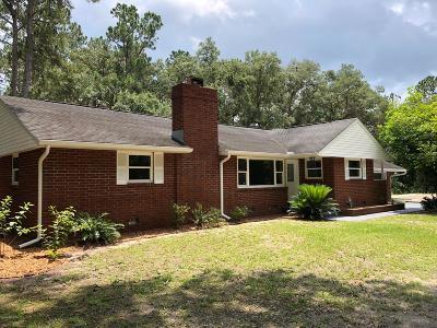 Fort McCoy Single Family Home For Sale: 13550 NE 165th Street
