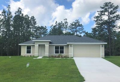 Marion Oaks North, Marion Oaks South, Marion Oaks Rnc Single Family Home For Sale: 728 SW Marion Oaks Mnr