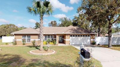 Marion Oaks North, Marion Oaks Rnc, Marion Oaks South Single Family Home For Sale: 14456 SW 44th Court