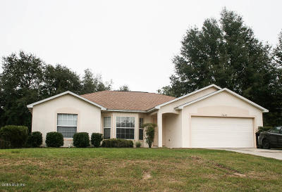 Marion Oaks North, Marion Oaks Rnc, Marion Oaks South Single Family Home For Sale: 7029 SW 128th Street