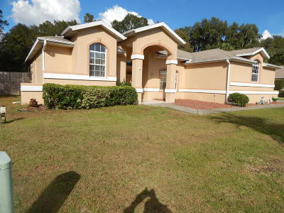 Ocala Single Family Home For Sale: 7664 SW 102nd Loop