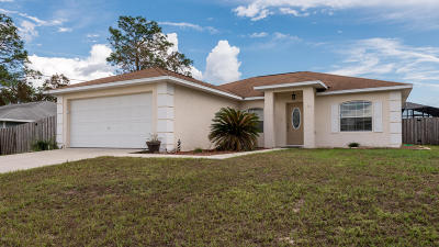 Ocala FL Single Family Home Sold: $160,000