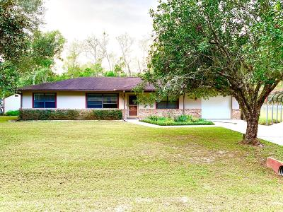 Ocala Single Family Home For Sale: 2720 NE 22nd Avenue