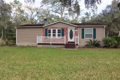 Fort McCoy Single Family Home For Sale: 14079 NE 151st Terrace