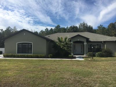 Ocala Single Family Home For Sale: 9676 SW 40th Terrace