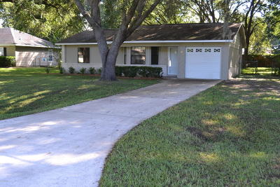Ocala Single Family Home For Sale: 55 Almond Road