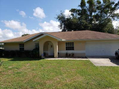 Summerfield Single Family Home For Sale: 16391 S Magnolia Avenue
