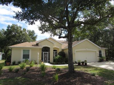 Dunnellon Single Family Home For Sale: 19480 SW 100 Loop