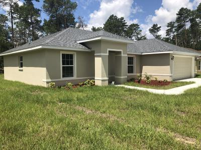 Ocala Single Family Home For Sale: 5166 SW 165th St Rd