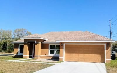 Marion Oaks North, Marion Oaks Rnc, Marion Oaks South Single Family Home For Sale: 5176 SW 165th St Rd