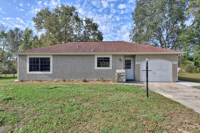 Ocala Single Family Home For Sale: 94 Water Trak