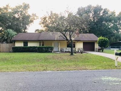 Ocala Single Family Home For Sale: 3820 NE 28th Court