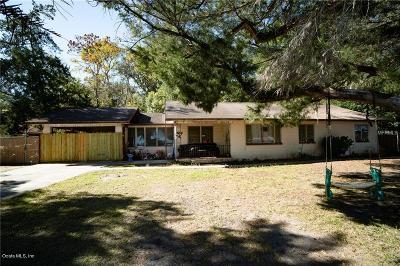Ocala Single Family Home For Sale: 2430 N Pine Avenue