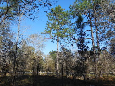 Levy County Residential Lots & Land For Sale: SE 140th Avenue