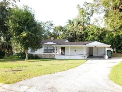 Ocala Single Family Home For Sale: 1501 NE 9th Street