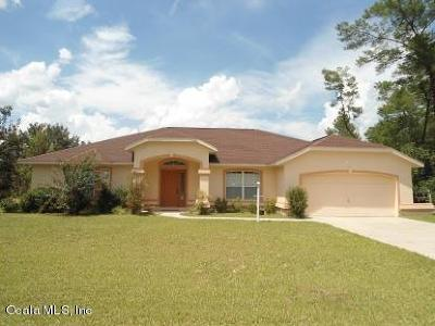 Marion Oaks North, Marion Oaks Rnc, Marion Oaks South Single Family Home For Sale: 13048 SW 35th Circle