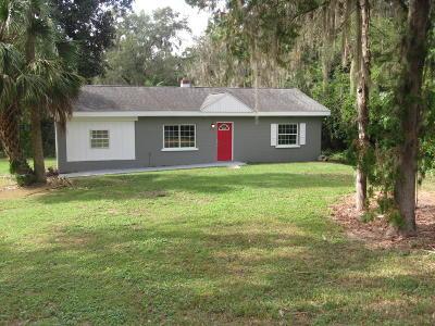Ocala Single Family Home For Sale: 2510 SE Lake Weir Avenue