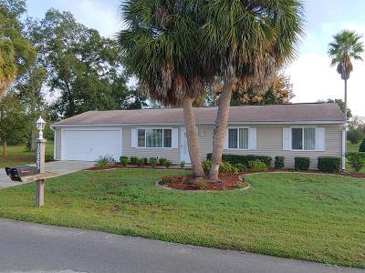 Ocala Single Family Home For Sale: 10865 SW 87th Terrace