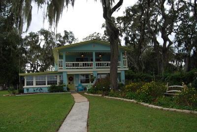 Fort McCoy Single Family Home For Sale: 10399 NE 218th Lane Road
