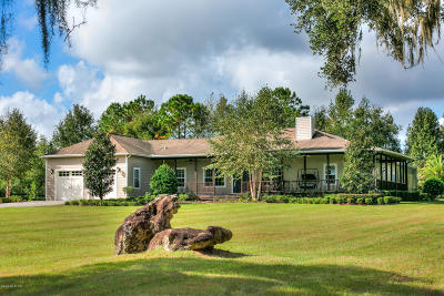 Marion County Farm For Sale: 3750 NW 115th Avenue
