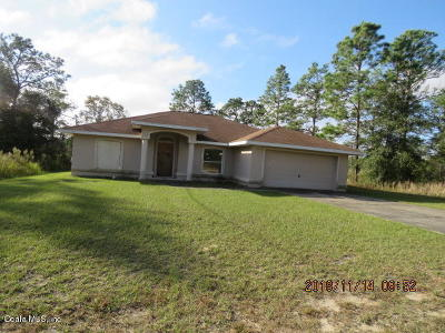 Ocala Single Family Home For Sale: 14390 SW 25th Lane