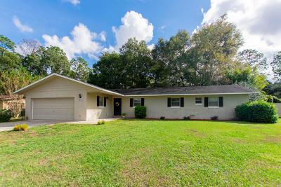 Ocala Single Family Home For Sale: 1611 NE 47th Court