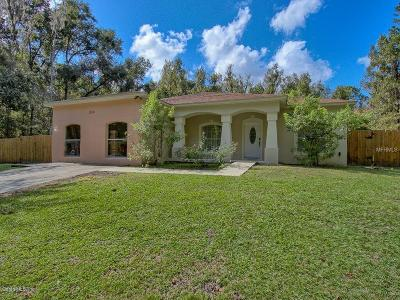 Ocala Single Family Home For Sale: 1150 SW 132nd Terrace