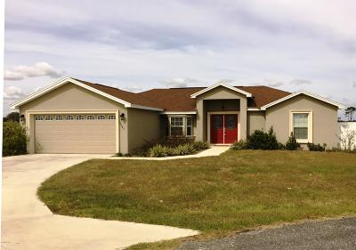 Ocala Single Family Home For Sale: 5683 SW 96th Place