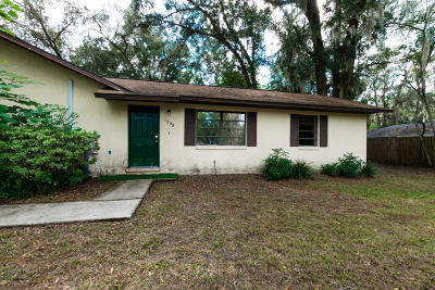 Marion County Rental For Rent: 1844 NE 24th Street