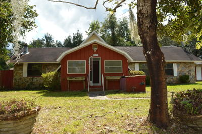 Silver Springs FL Single Family Home For Sale: $44,900