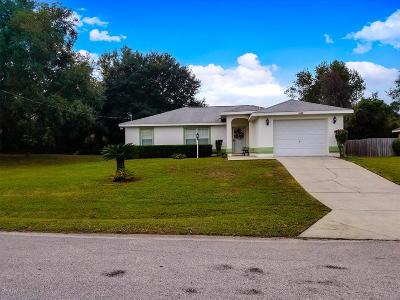 Ocala FL Single Family Home For Sale: $144,000
