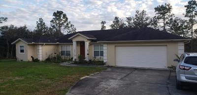 Dunnellon Rental For Rent: 12384 SW 87th Street