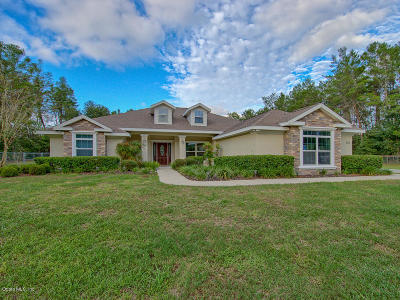 Ocala Single Family Home For Sale: 4155 SW 116th Place