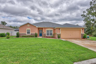 Ocala Single Family Home For Sale: 6911 SW 64th Terrace