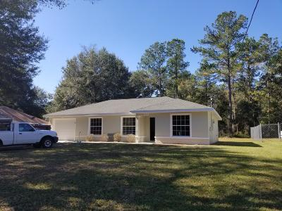 Ocala Single Family Home For Sale: 5106 NW 61st Avenue