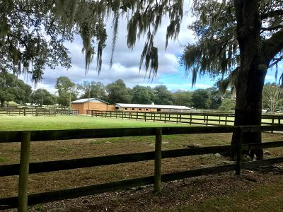 Marion County Farm For Sale: 1879 SW 107th Place