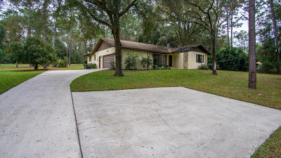 Dunnellon Single Family Home For Sale: 9125 SW 215th Avenue