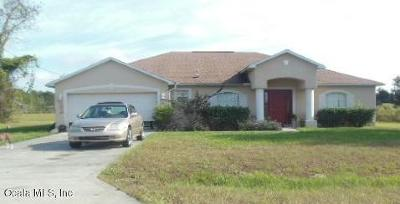 Ocala Single Family Home For Auction: 105 Juniper Loop Circle