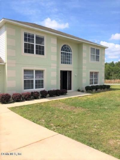 Marion County Rental For Rent: 4348 SW 110th Street