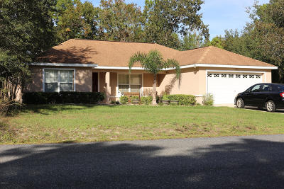 Summerfield Single Family Home For Sale: 9341 SE 158th Place