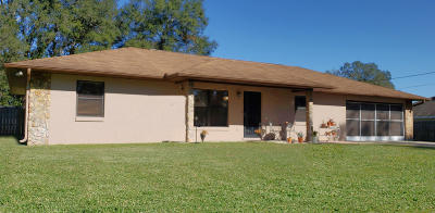 Belleview Single Family Home For Sale: 6287 SE 127th Place