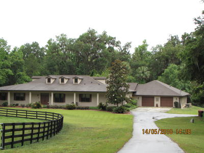 Ocala Single Family Home For Sale: 1110 SE 82nd Street Road