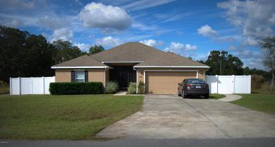 Ocala Single Family Home For Sale: 277 Emerald Road