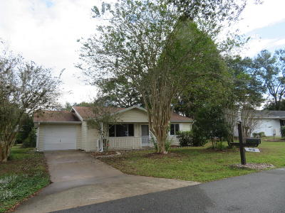 Ocala Single Family Home For Sale: 10953 SW 84th Avenue