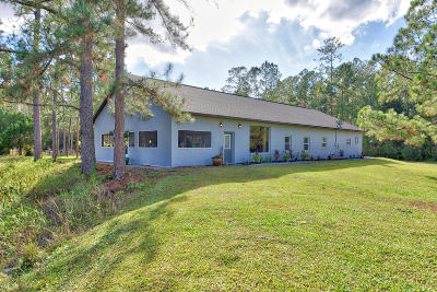 Fort McCoy Single Family Home For Sale: 14500 E Hwy 316