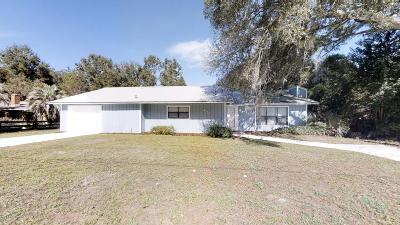 Ocala Single Family Home For Sale: 4731 E Fort King Street