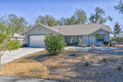 Dunnellon Single Family Home For Sale: 20202 Quail Run Drive
