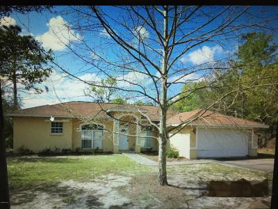 Levy County Single Family Home For Sale: 15548 NE 10 Street