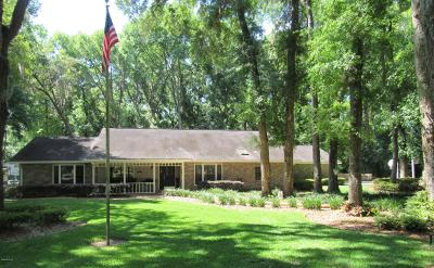 Ocala Single Family Home For Sale: 4180 SE 26th Terrace Rd Road