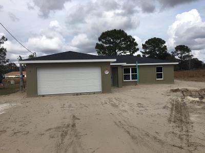 Ocala Single Family Home For Sale: 25 Dogwood Drive Course